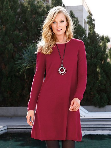 Peter Hahn Cashmere - Knitted dress in Pure cashmere in premium quality