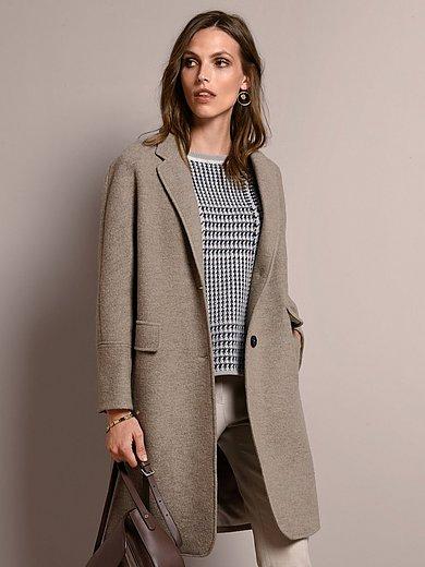 Windsor - Le manteau 3/4 100% laine vierge