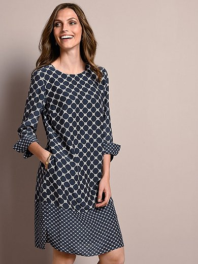 Windsor - Dress with 7/8-sleeves