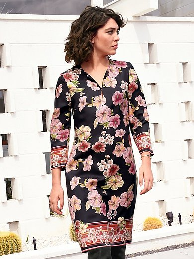 Laura Biagiotti Donna - Silk dress with 3/4-length sleeves