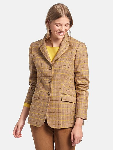 Fadenmeister Berlin - Blazer made of woven checked cloth