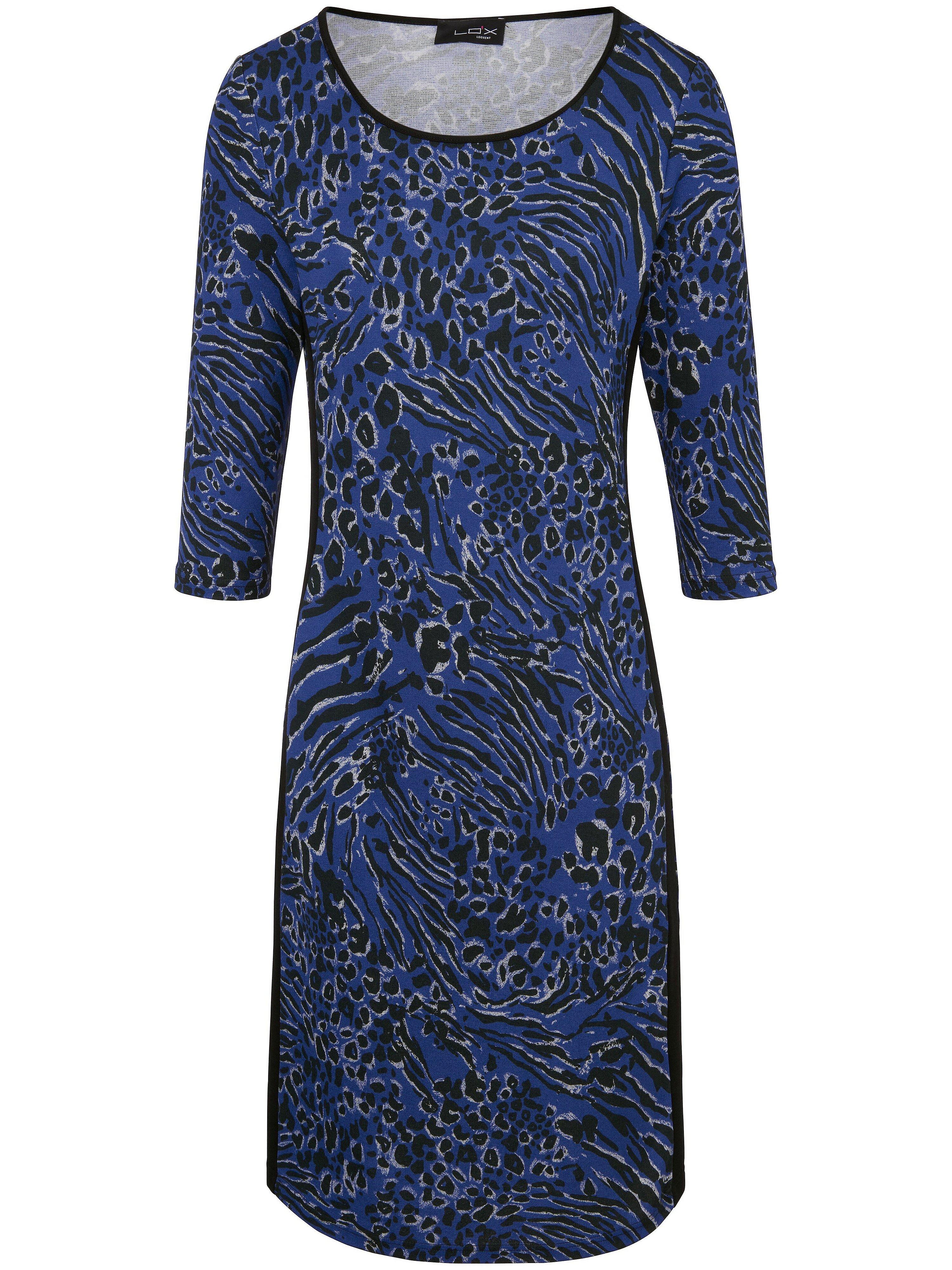 Jerseyjurk met 3/4-mouwen Van Looxent blauw