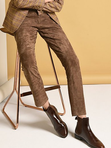 Fadenmeister Berlin - Knöchellange Lederhose aus 100% Leder