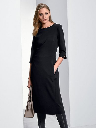 Fadenmeister Berlin - Jersey dress with 3/4-length sleeves