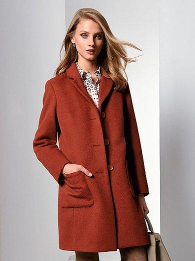 Fadenmeister Berlin - Coat in alpaca and new milled wool