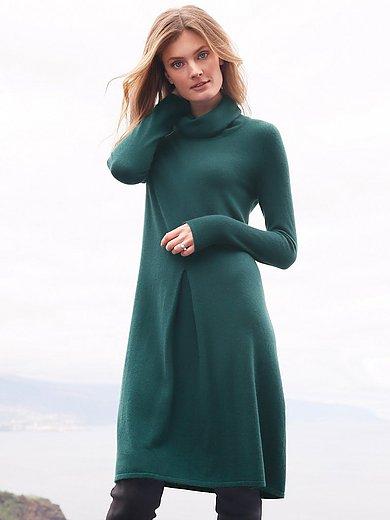 include - Stickad klänning i 100% kashmir i Premium-kvalitet
