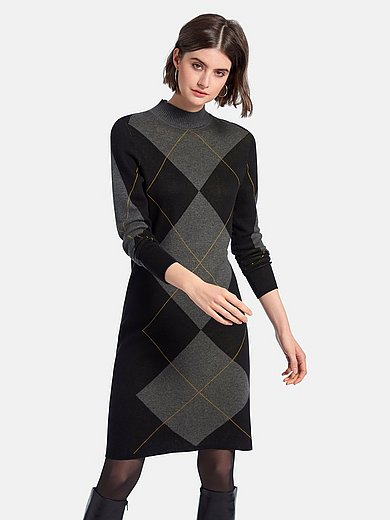 Looxent - Knitted dress with long sleeves