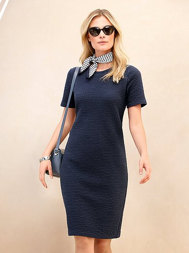 Peter Hahn - Jersey dress with 1/2-length sleeves