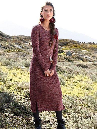Inkadoro - La robe en maille 100% alpaga manches longues