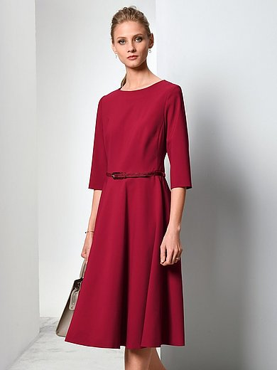 Fadenmeister Berlin - Dress with 3/4-length sleeves in pure new wool