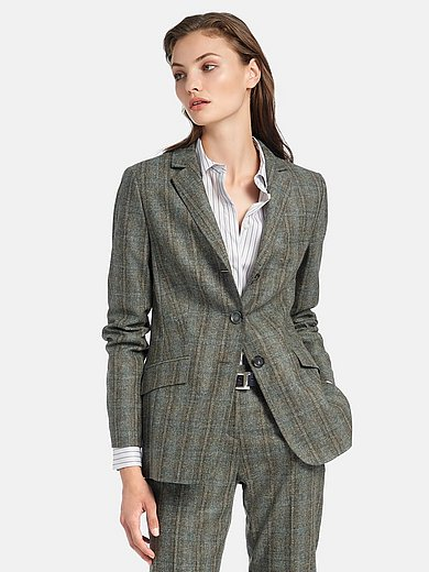 Fadenmeister Berlin - Blazer with check pattern