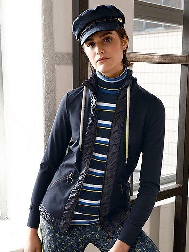 Looxent - Jersey-Jacke mit Stehkragen