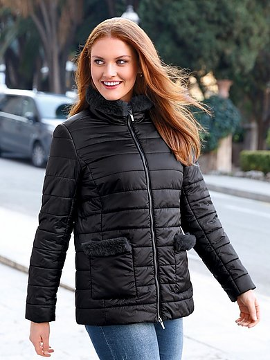 Anna Aura - Quilted jacket with a raised collar