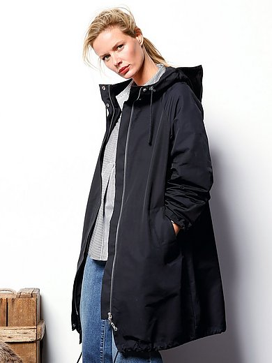 DAY.LIKE - Water-repellent coat with hood