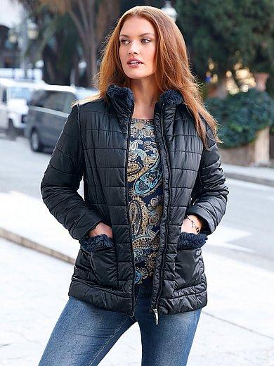 Anna Aura - Gewatteerde jas met staande kraag