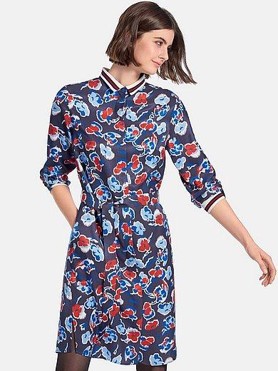 Looxent - Kleid mit gestricktem Kragen