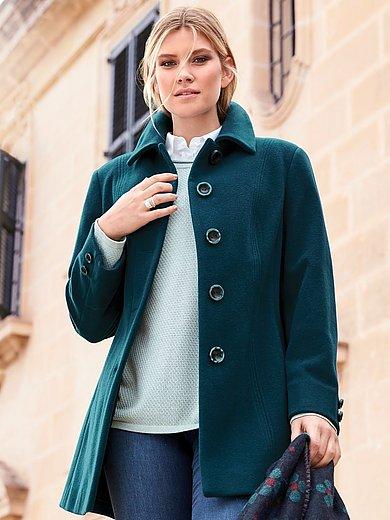 Anna Aura - Short coat with turn-down collar