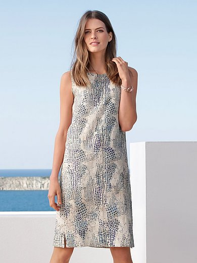 Peter Hahn - La robe sans manches en 100% lin