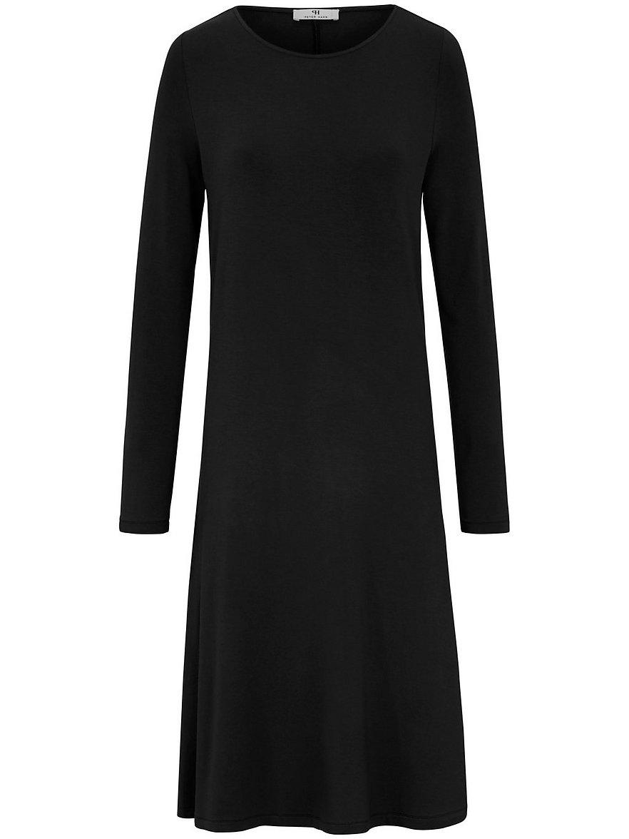 peter hahn - Jersey-Kleid  schwarz Größe: 48