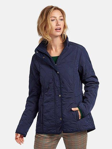 mayfair by Peter Hahn - Gewatteerde jas met blinde 2-wegritssluiting