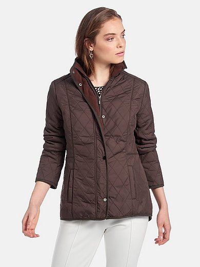 mayfair by Peter Hahn - Quilted jacket with fleecy interior