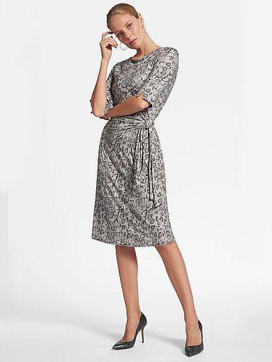 Jersey Kleid mit 34 Arm