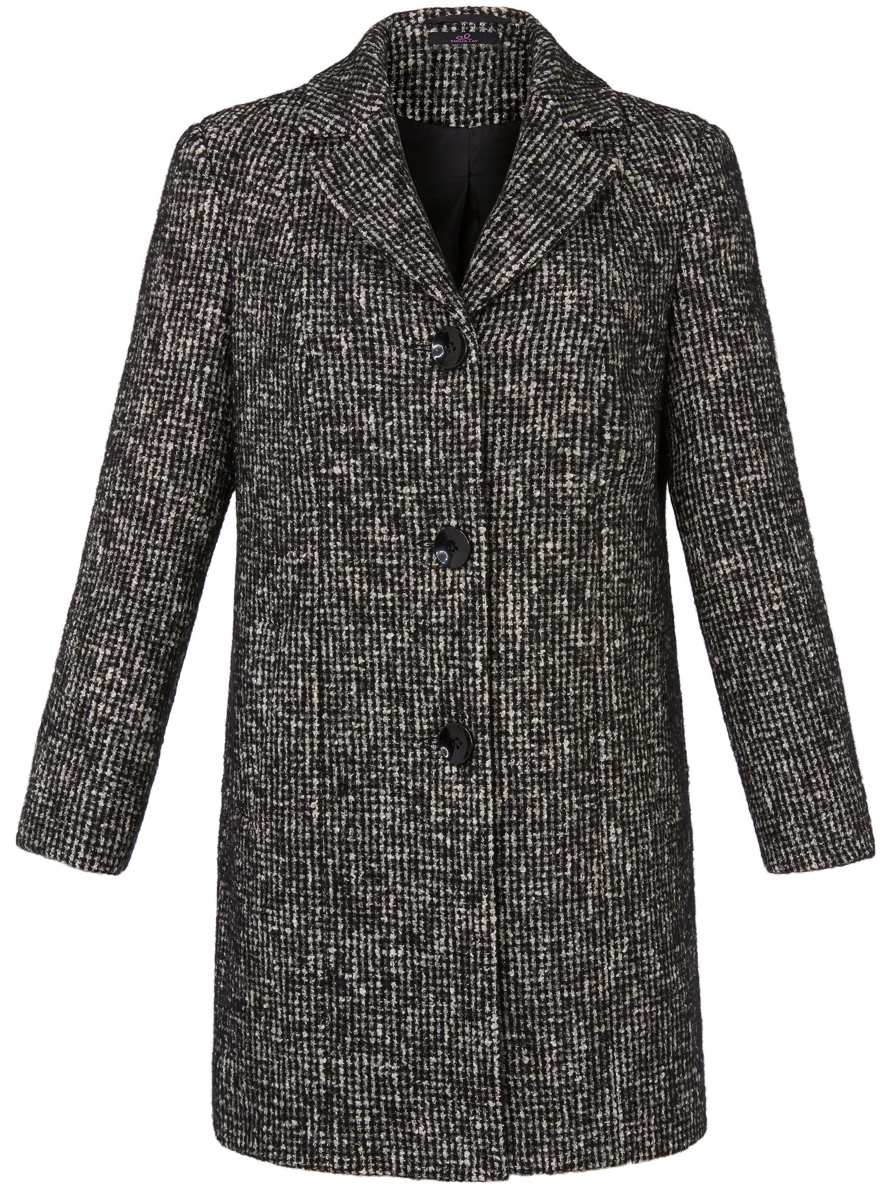 Le manteau 3/4  Emilia Lay noir taille 56