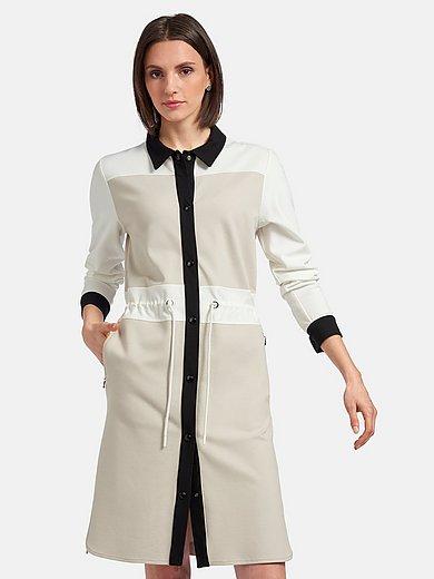 Bogner - Jerseykjole med lange ærmer