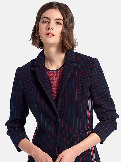 Looxent - Jersey blazer with revere collar