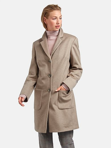 Fadenmeister Berlin - Coat in new milled wool and cashmere