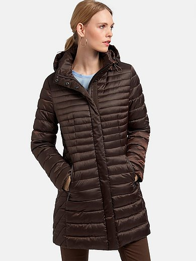 MYBC - Quilted jacket with stand-up collar