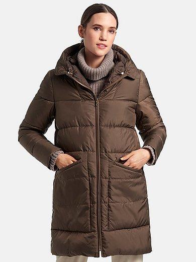 DAY.LIKE - Gewatteerde lange jas met capuchon