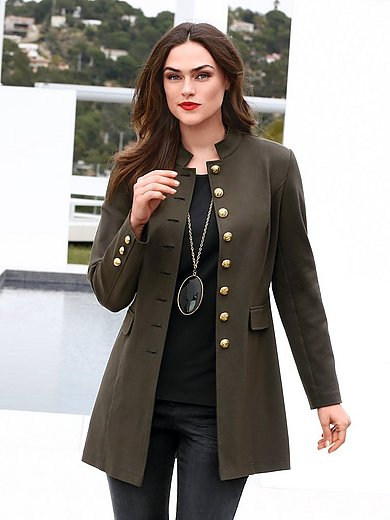 Emilia Lay - Lange jerseyblazer