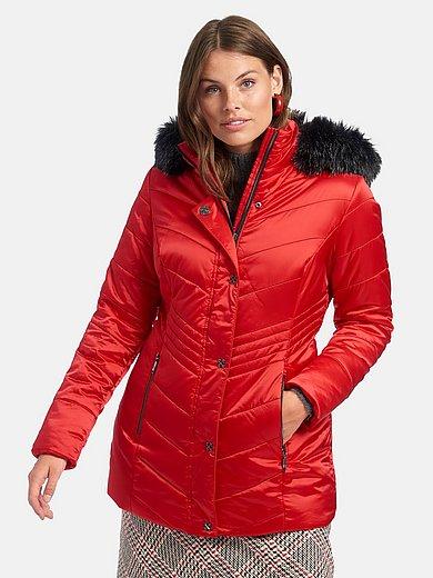 Emilia Lay - Doorgestikte jas met staande kraag