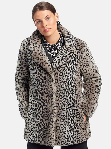 Emilia Lay - Fake Fur-Mantel