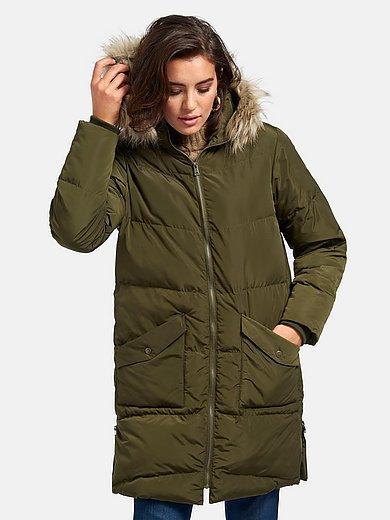 Emilia Lay - Le manteau matelassé capuche