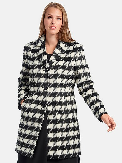 Anna Aura - Coat with houndstooth pattern
