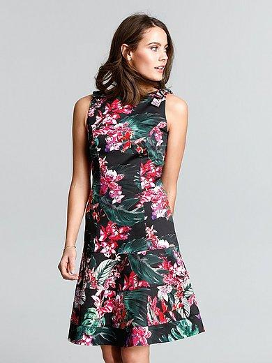 comma, - Träger-Kleid mit Dschungel-Print