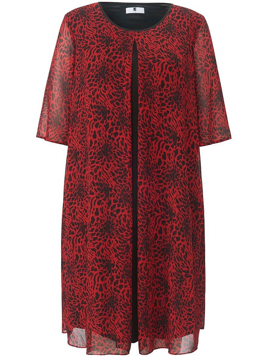 anna aura - Kleid langem 1/2-Arm  rot Größe: 54