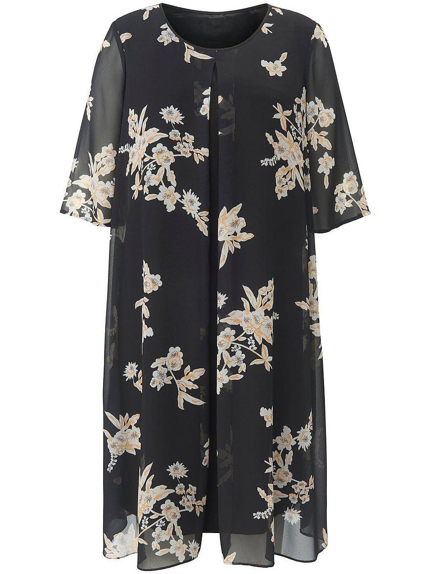 anna aura - Kleid langem 1/2-Arm  schwarz Größe: 54