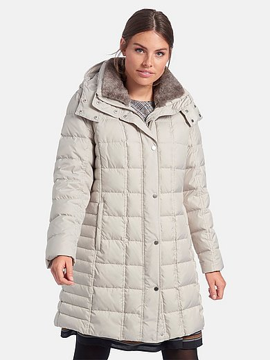 Fuchs & Schmitt - Quilted jacket with detachable faux fur collar