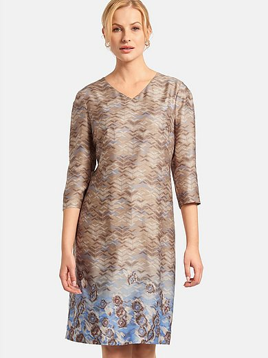 Basler - Dress with 3/4 length sleeves