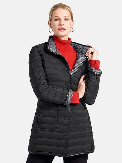 Basler - Vendbar quiltet jakke med ståkrave