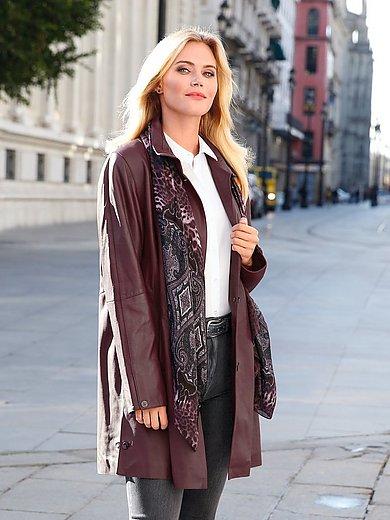 Anna Aura - Le manteau en cuir nappa de chèvre