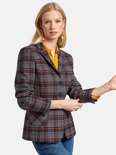 Basler - Blazer with check pattern
