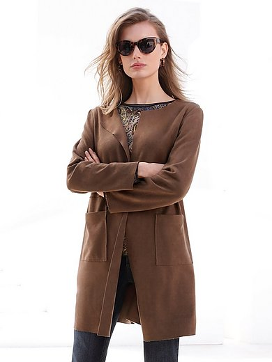Betty Barclay - Suede effect coat