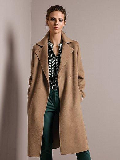 Marella Lange jas camel