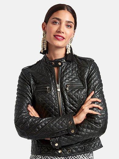 Laura Biagiotti ROMA - La veste en cuir ligne courte