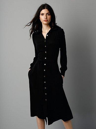 GOAT - Hemdblusen-Kleid aus 100% Seide