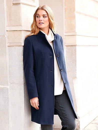 Anna best Futter Aura Acetat Stehkragen Damen Mantel mit TlKF1Jc